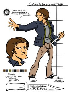 Supernatural:The Game - Sam Winchester by Gagoism