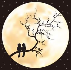 Romantic silhouette vector8