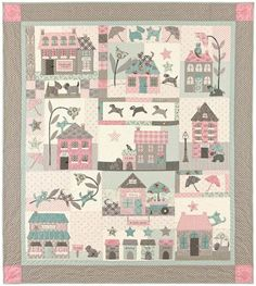 Raining Cats & Dogs - by Bunny Hill Designs - Quilt Pattern
