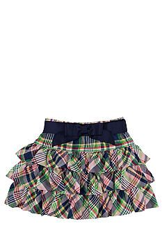 Ralph Lauren Childrenswear Madras Skirt Toddler Girls