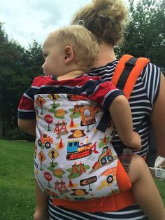 Canvas - Abby's Lane Exclusive 'Can You Dig It' TULA BABY CARRIER