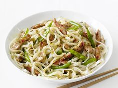Thai Pork and Noodles Recipe : Food Network Kitchen : Food Network - FoodNetwork.com