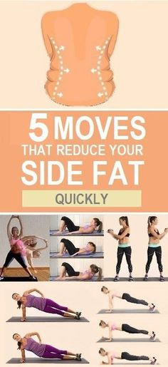 5 Moves that reduce your side fat quickly