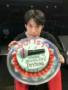 """You're not even trying to escape huh. There's no point in doing it. Who are you trying to find anyway?"" ""That's a good question and the answer. Happy Birthday Angel, 12th Birthday, Birthday Cake, Nct 127, K Pop, Kim Dong Young, Exo Red Velvet, Nct Doyoung, Wattpad"