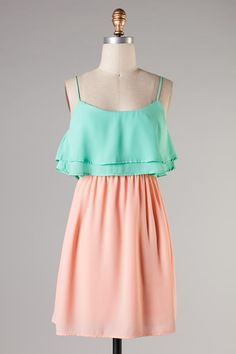 peach and mint #swoonboutique