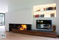 fireplace // tv