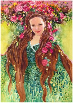 Художница под ником yanadhyana живет в России, у нее свой уникальный стиль и свои завораживающие, необычные фантастические миры. Приятного просмотра. сайт автора