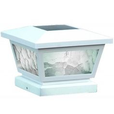 Buy the Classy Caps White Direct. Shop for the Classy Caps White Fairmont Wide LED Solar Post Cap Light that fits x x or x Post and save. Solar Led, Solar Lights, Fence Post Caps, Plastic Decking, Deck Posts, Bollard Lighting, Outdoor Post Lights, Outdoor Lighting, Lantern Post