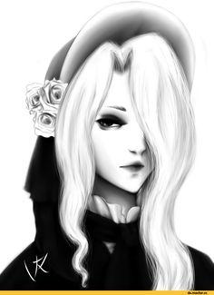 BloodBorne, Dark Souls, fandom, BB art, Plain Doll, Doll, BB characters