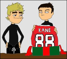 A Kane and Toews Christmas... Hahahahaha