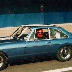 Driver blue MG
