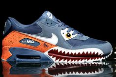 NIKE AIR MAX 90 PIRANHA - Great shoes for a swimmer :D