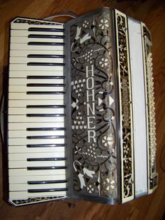 Hohner Accordion Vintage by CajunsWoodcrafts on Etsy, $499.00
