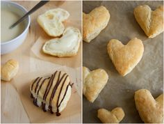 Puff Pastry Pudding Hearts.  It looks good even if it's not in the shape of a heart.