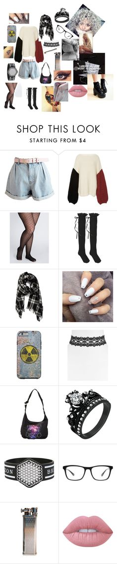 """""""anyone can hide behind a smile"""" by kittycatprincess ❤ liked on Polyvore featuring Tuinch, Lane Bryant, HYD, Eileen Fisher, Vanessa Mooney, Joseph Marc, Lime Crime and Pangmama"""