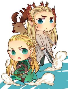 Legolas Thranduil fan art