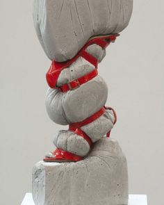 From McNeill Art Group, Jeff Muhs, Study in Form with Jimmy Choo Shoes and Concrete, Jimmy Choo shoes and concrete, 24 × 10 × 4 in Concrete Sculpture, Art Sculpture, Concrete Art, Abstract Sculpture, Ceramic Sculpture Figurative, Contemporary Sculpture, Contemporary Art, Art Concret, Design Creation