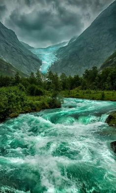 Briksdalbreen (Norway)