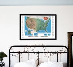 The national parks scratch off travel map by mappinners scratch the national parks scratch off travel map by mappinners nationalparks checklist bucketlist sciox Image collections