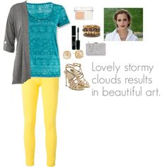 Lovely Stormy Clouds Results In Beautiful Art by charbear231 on Polyvore featuring White Sierra, Polo Ralph Lauren, Paul Andrew, Vince Camuto, Christian Dior and Emma Watson