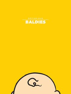 New in the Shop: Funny Illustrations of Iconic Baldies - My Modern Metropolis