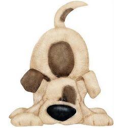 Dibujos de perros para imprimir , tiernos perritos para las manualidades infantiles, perros peluches adorables para imprimir y recortar gra...