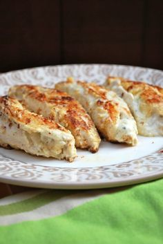 Chicken Boursin - made easily with Boursin cheese. Can make ahead of time and cook in 20 minutes. Yum!