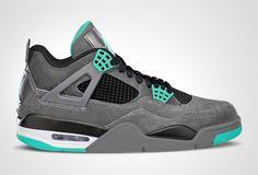 Air Jordan 4 Green Glow-- want want want!!