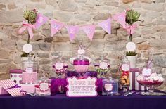 Pink+and+Purple+Weddings