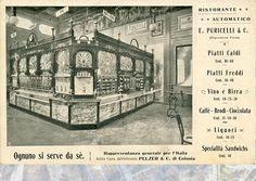 Ristorante Automatico, Esposizione Inernazionale Milan 1906