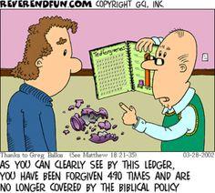 A problem with literal interpretation!  (Cartoon by ReverendFun.Com)