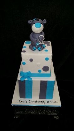 A Christening Cake For Levi