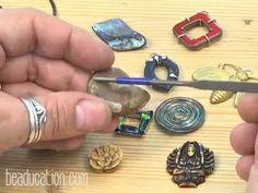 ▶ Freeform Prong Stone Setting Tutorial - Beaducation.com - YouTube