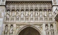 Portico de la Catedral de Wesminster  Londres