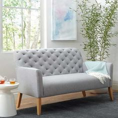 Living rooms are a place for relaxation, hanging out and entertaining, so your furniture should be up for it all. These finds are stylish, functional and perfect for small spaces!  /