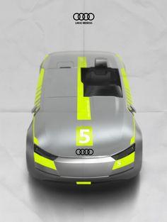 "Audi Innove ""Racing version"" by Lukas Medeisis at UID"