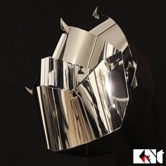 """K.Nt """"In His Shining Armour"""" mask with detachable visor and one way mirror film…"""
