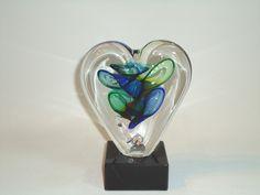 Mini-urn hart - gedenkobject voor ( ongeboren ) kind