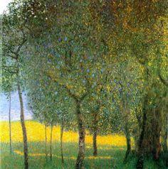 Gustav Klimt - Fruit Trees, 1901