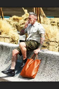 Nick Wooster style swag!!! I mean, its Nick Woooster!