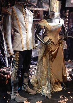Into the Woods Prince Charming and Cinderella film costumes