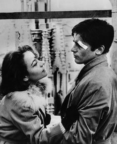 Annie Girardot & Alain Delon - Rocco e i suoi fratelli (Visconti, 1960)