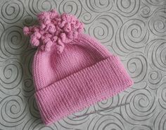 Шапка для девочки резинка 1х1 крючком спиральки Slip Stitch Crochet, Knitted Hats, Beanie, Knitting, Fashion, Moda, Tricot, Fashion Styles, Breien