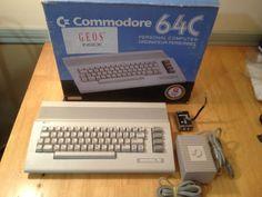 Commodore 64C Personal Computer.