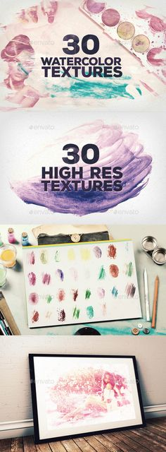 30 Watercolor Textures (JPG Image, CS, 2300x3286, acrylic texture, paint texture, paint textures, painting texture, watercolor, watercolor texture, watercolour, watercolour paint, watercolour texture, watercolour textures)