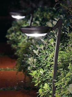 Stylishly illuminate your walk, drive or patio with the Set of Two Huntley Solar Lights; a maintenance-free lighting solution using crystalline solar panels.