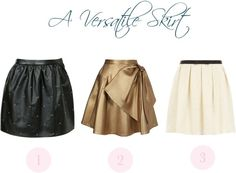 """A Versatile Skirt"" by christinamartinaxoxo ❤ liked on Polyvore"