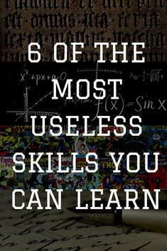 Learning something new is always valuable and rewarding. If you get the choice about what learn, you might want to consider not learning these almost useless skills, however. Odd Stuff, Skills To Learn, Self Motivation, Help Teaching, Something New, Learning Resources, College Students, Self Improvement, Seo