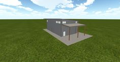 Cool 3D #marketing http://ift.tt/2e4v56z #barn #workshop #greenhouse #garage #roofing #DIY