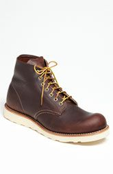 Red Wing '8196' Round Toe Boot